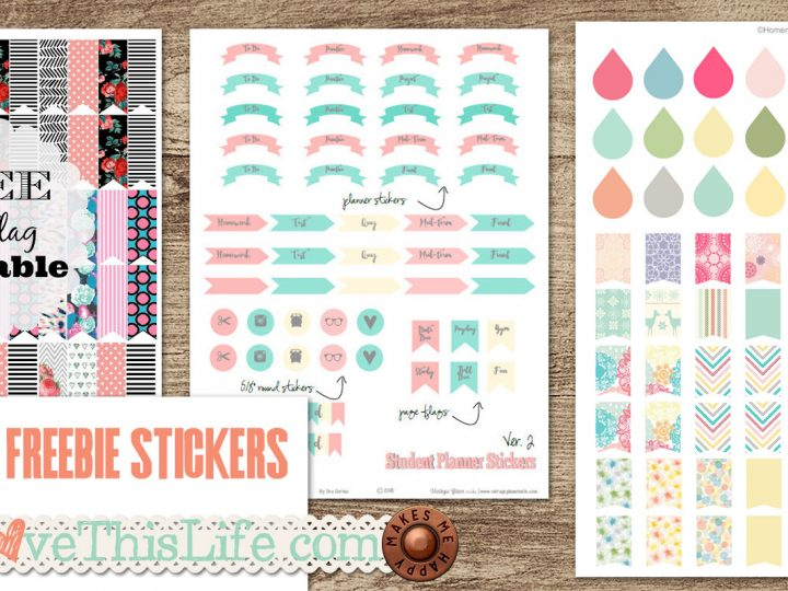 Best Sticker Printables For FREE!