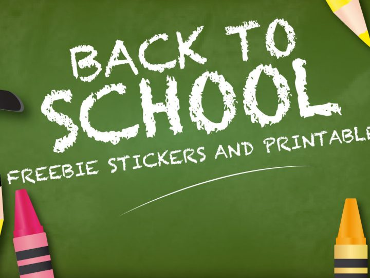 Free Back to School Planner Stickers and Printables