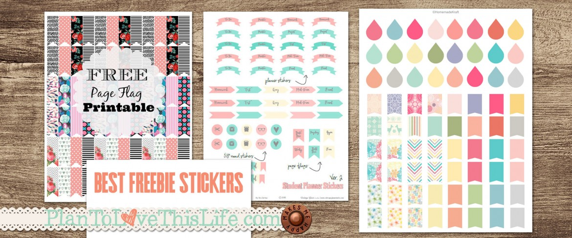 photo relating to Free Printable Functional Planner Stickers titled Excellent Sticker Printables For Free of charge! Program Towards Get pleasure from This Daily life