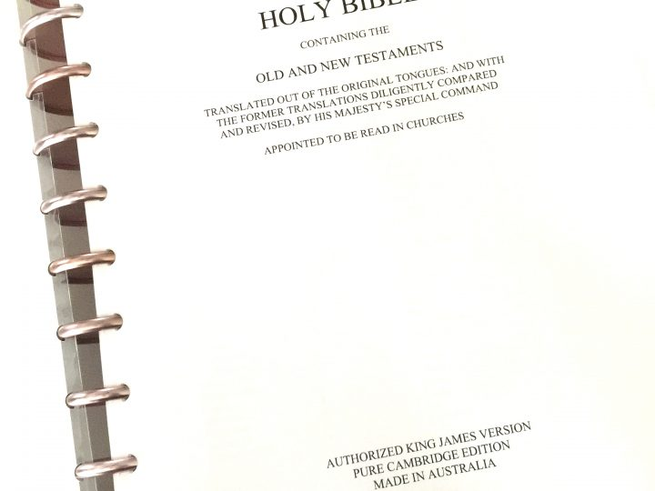 Download and Print Your Own Loose Leaf Journaling Bible